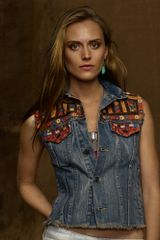Denim & Supply Embellished Vest - Lyst