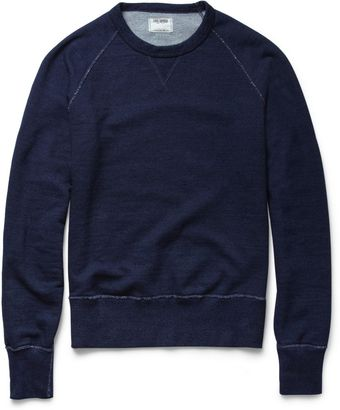 Todd Snyder Loopback Cotton Jersey Sweatshirt - Lyst