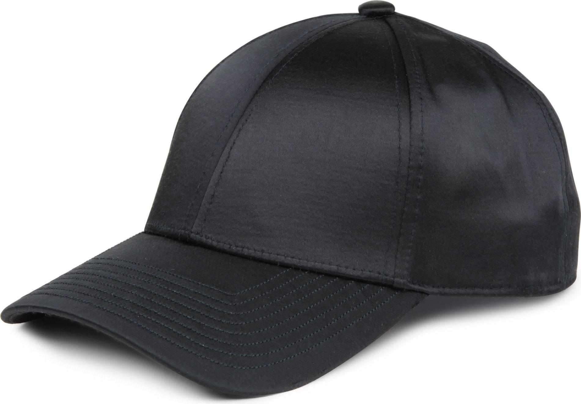 Acne Satin Baseball Cap In Blue For Men Navy Lyst