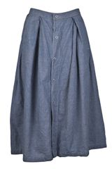 Engineered Garments Tuck Skirt - Lyst