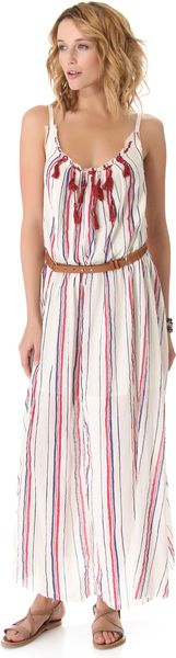Free People Striped Unearthen Dress - Lyst
