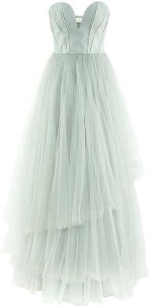 H&M Tulle Dress - Lyst