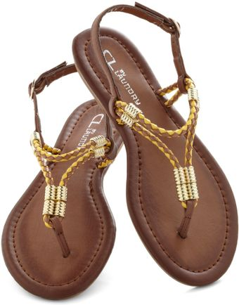 ModCloth The Best Of Friends Sandal - Lyst