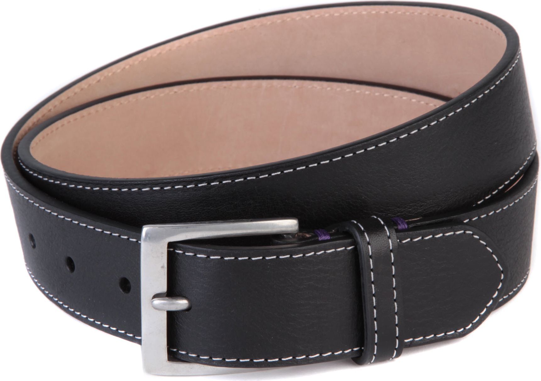 paul smith brown mini silhouette tip leather belt for