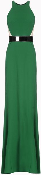 Stella McCartney Stretch Cady Saskia Dress - Lyst