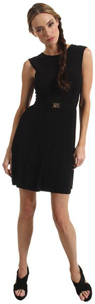 Versace Cut out Back Dress - Lyst