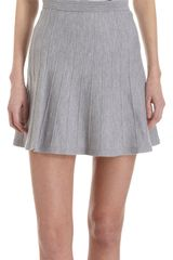 3.1 Phillip Lim Pleated Knit Mini Skirt - Lyst