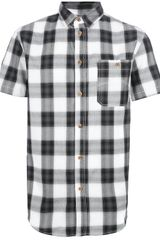 Armani Jeans Checked Shirt - Lyst