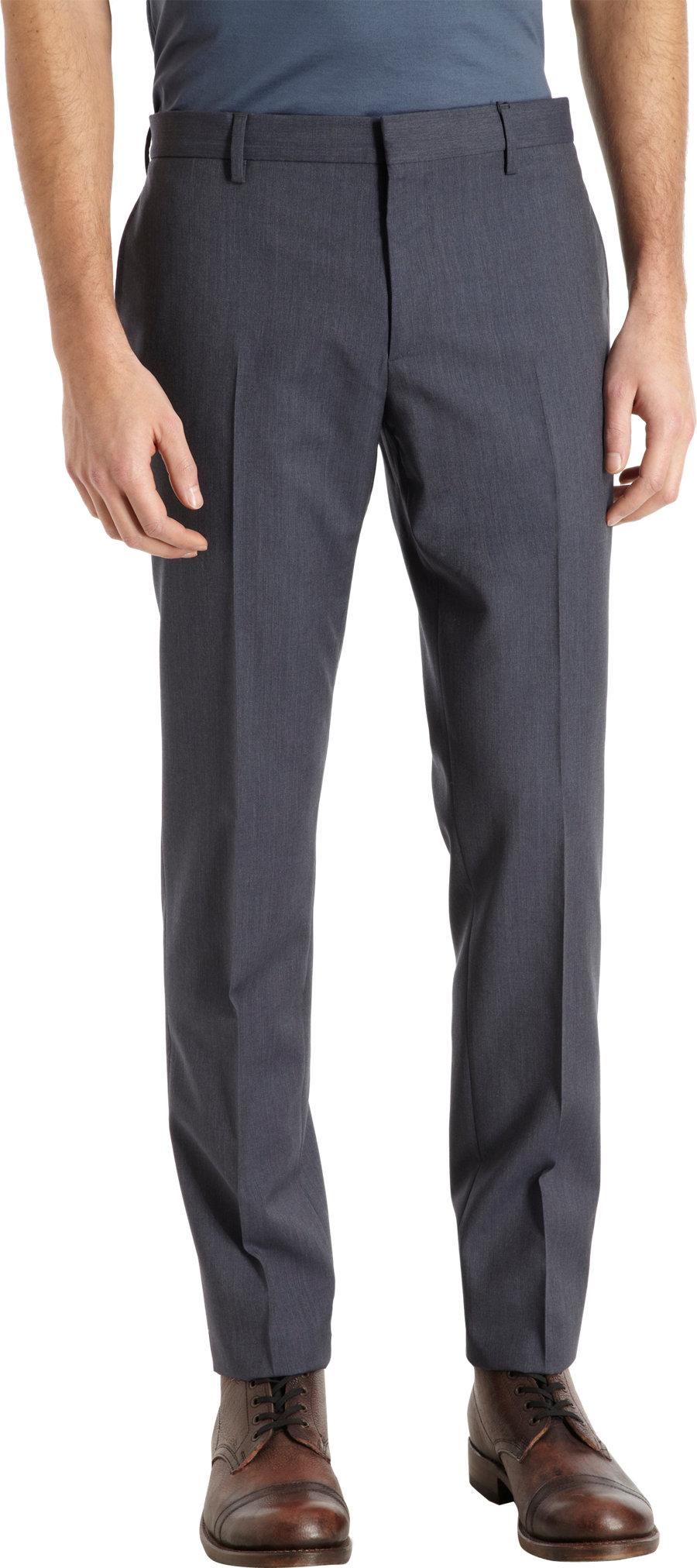 Burberry Salton Dress Pants In Blue For Men Lyst
