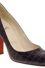 Christian Louboutin Croc Simple Pump - Lyst