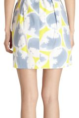 Diane Von Furstenberg Carol Mini Dress - Lyst