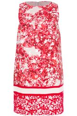 Giambattista Valli Printed Shift Dress - Lyst