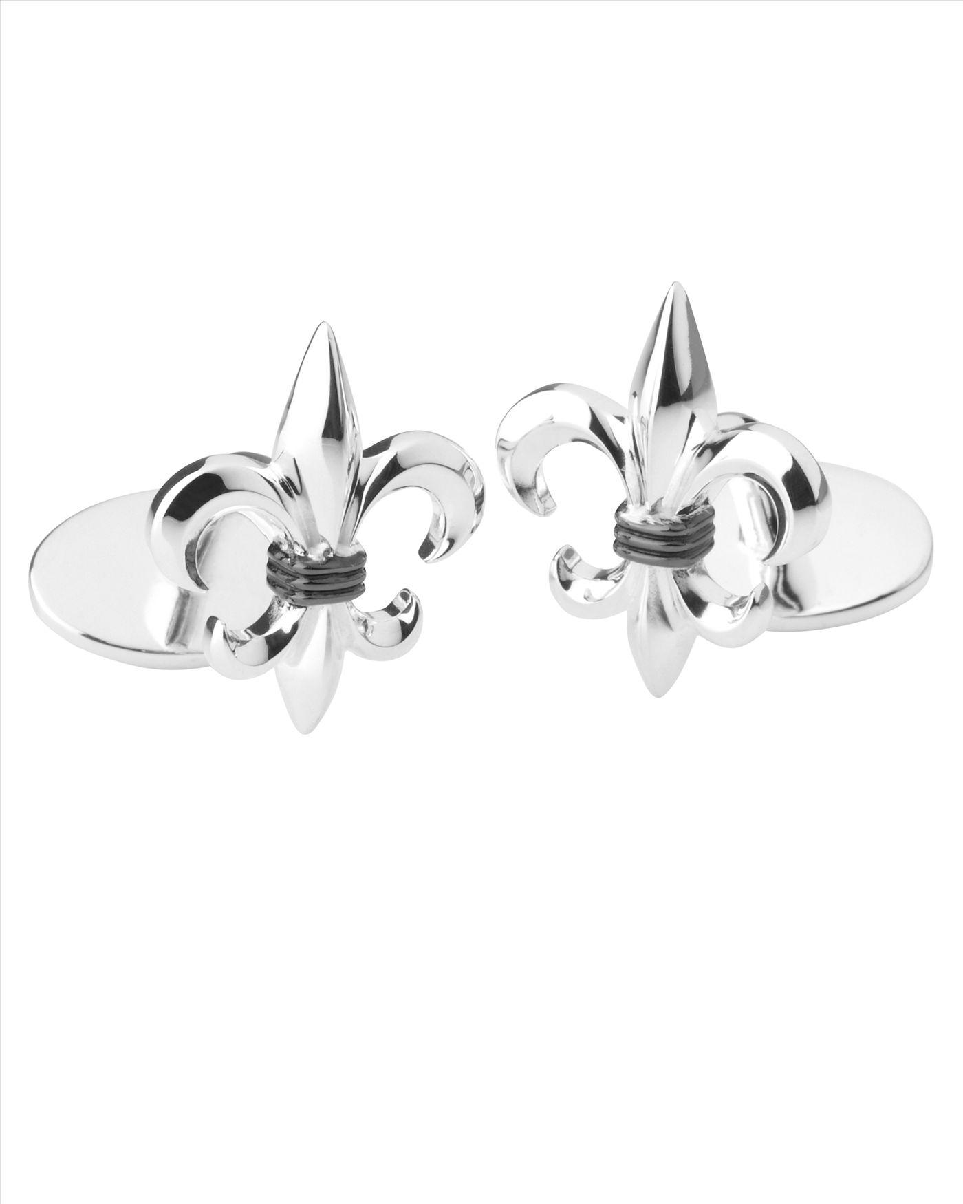 True Rocks fleur de lys cufflinks - Metallic LLV2geE