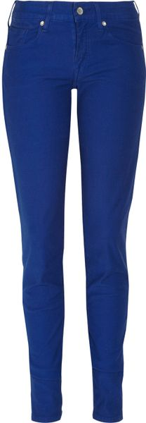 Levi's Empire Mid-Rise Skinny Jeans in Blue - Lyst