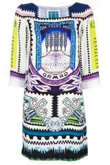 Mary Katrantzou Venezuela Printed Dress - Lyst