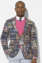 Polo Ralph Lauren Surfside Madras Sport Coat - Lyst