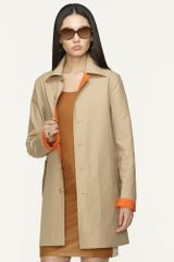 Ralph Lauren Black Label Reversible Cotton Clairy Coat - Lyst