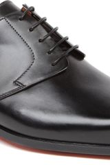 Santoni George Chiseltoe Derby Shoes - Lyst