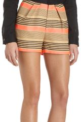 Sea Striped Shorts - Lyst
