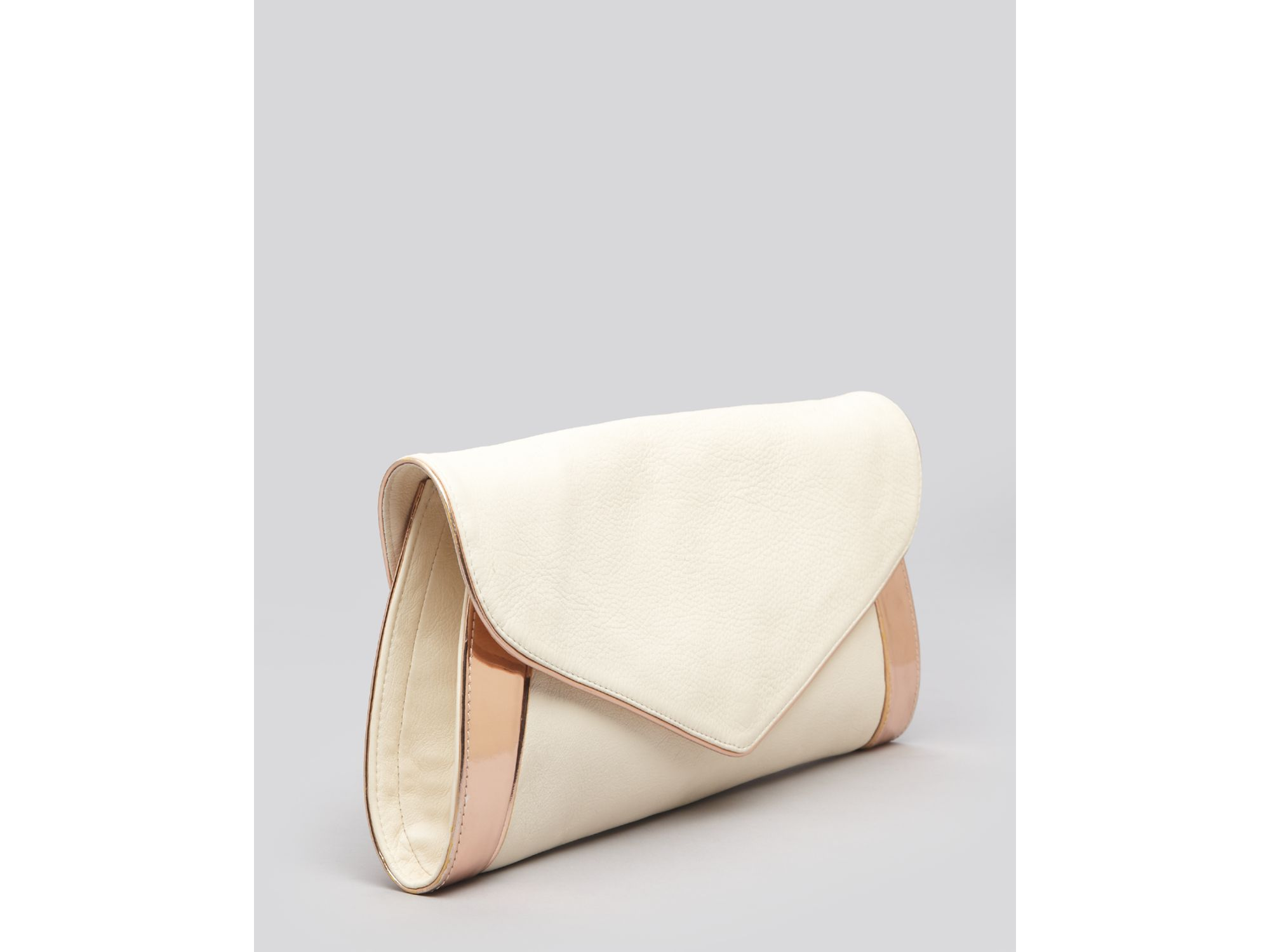 See by chlo¨¦ Clutch Anna in Beige (bliss) | Lyst