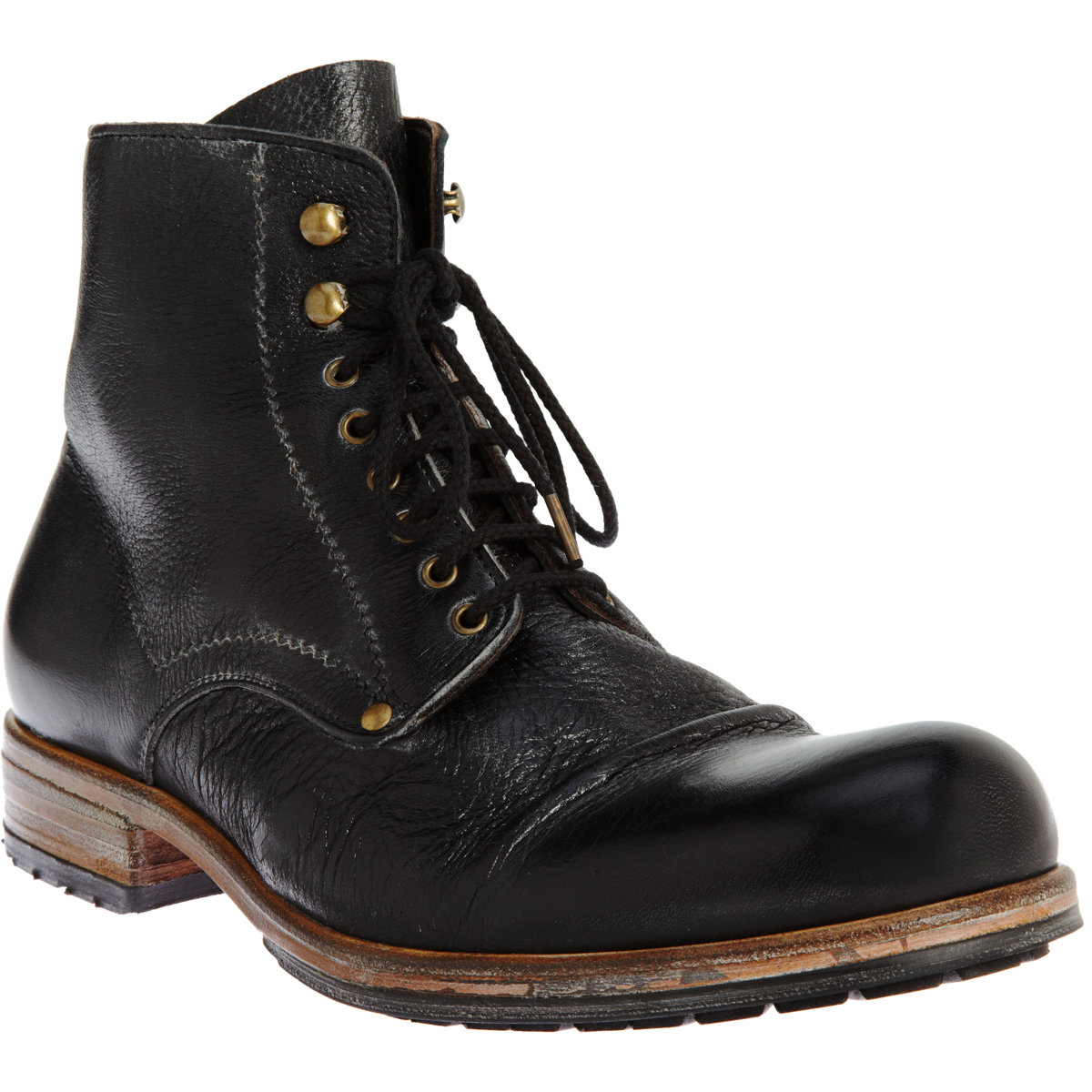 Lyst - Shoto Laceup Boot in Black for Men