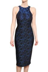 Stella McCartney Wool Jacquard On Stretch Viscose Dress - Lyst