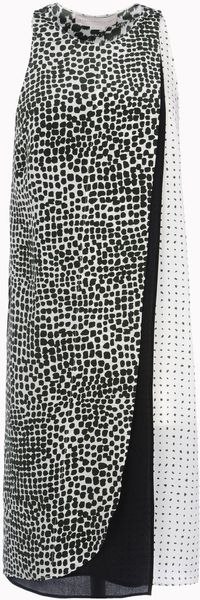 Stella McCartney Painted Spot Mika Dress - Lyst