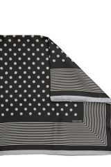 Tom Ford Polka Dot Bandana with Stripey Border - Lyst