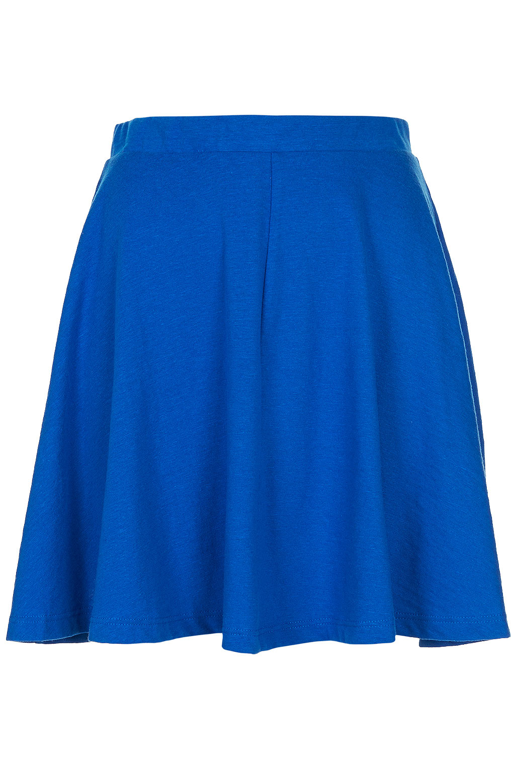 topshop bright blue skater skirt in blue bright blue lyst