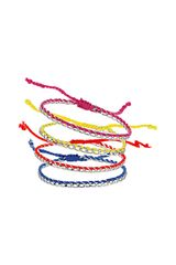 Topshop Mood Friendship Bracelet Pack - Lyst