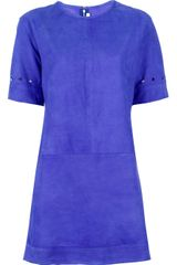 Victoria, Victoria Beckham Short Sleeve Dress - Lyst