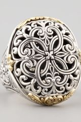 Konstantino Oval Filigree Ring - Lyst