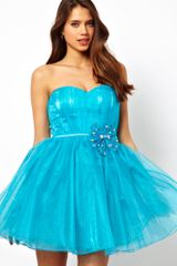 Little Mistress Sweetheart Organza Prom Dress - Lyst
