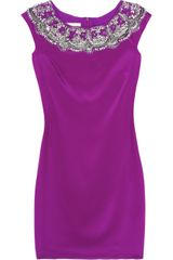 Notte By Marchesa Embellished Jersey Dress - Lyst