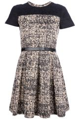 Proenza Schouler Belted Dress - Lyst