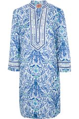 Tory Burch Printed Tunic Dress - Lyst