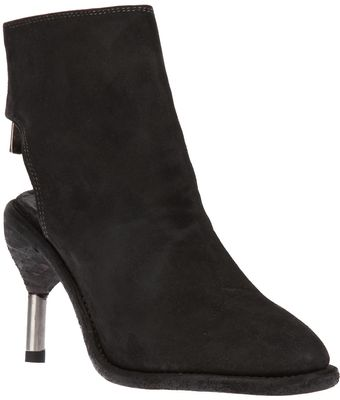 Guidi Cut Out Ankle Boot - Lyst