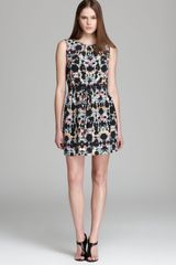 Tibi Print Dress Kaleidoscope Easy - Lyst