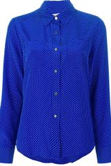 Juicy Couture Dotted Shirt - Lyst