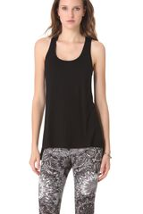 David Lerner Racer Back Tank - Lyst