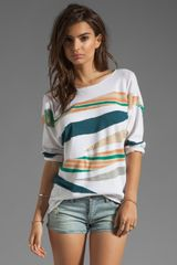 Dolan Intarsia Sweater in Sea - Lyst