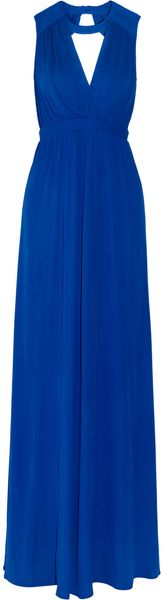 Issa Cut-Out Crepe Gown - Lyst