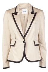 Moschino Trim Jacket - Lyst