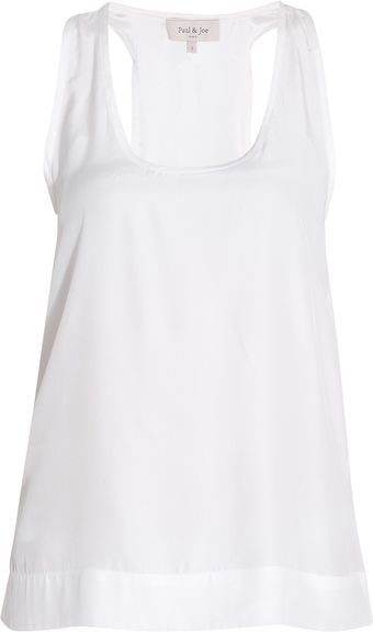 Paul & Joe Silk Tank Top - Lyst