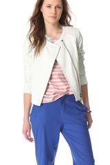 Swildens Itself Leather Jacket - Lyst