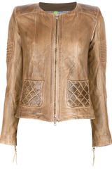 S.w.o.r.d Leather Jacket - Lyst