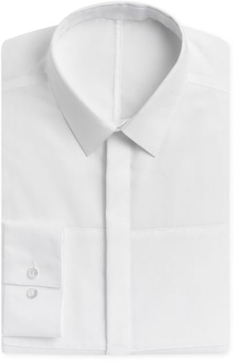 Calvin Klein Steel No Iron  Solid Long Sleeve Shirt - Lyst