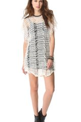 Iro Elma Fringe Dress Tunic - Lyst