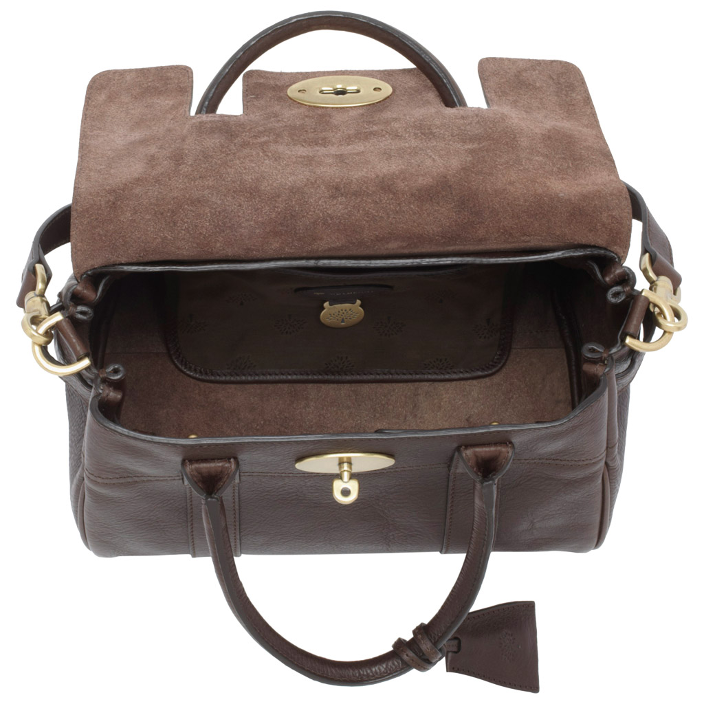 9cc0b68046ff ... sale lyst mulberry small bayswater satchel in black 50edf dcb15 ...