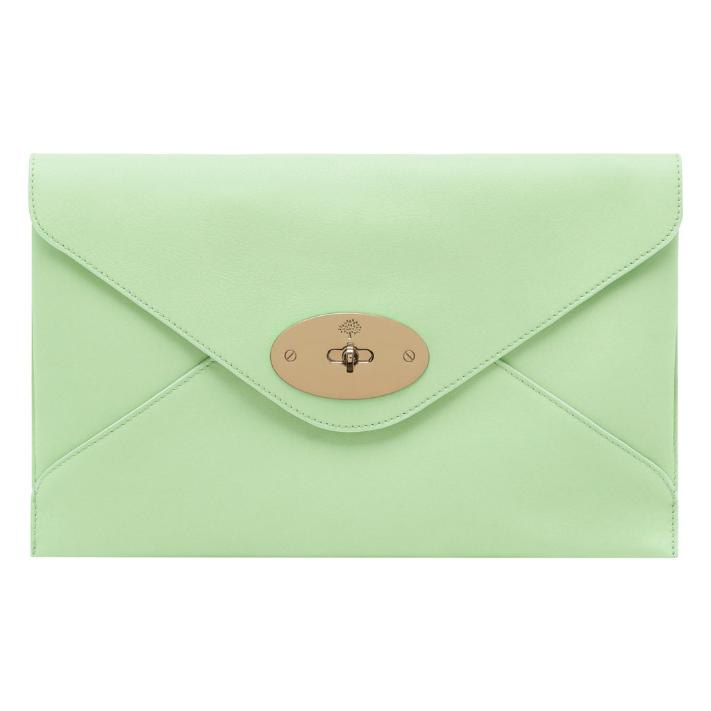 973e22dedf Mulberry Willow Clutch in Green - Lyst